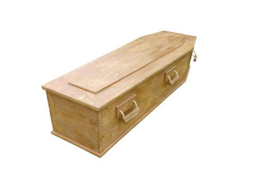 China Funeral Equipment Selected Solid Wood Caskets With Handles Handmade Handmade factory