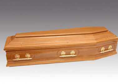 China Custom Made Funeral Modern Casket , Custom Painted Caskets European Style factory