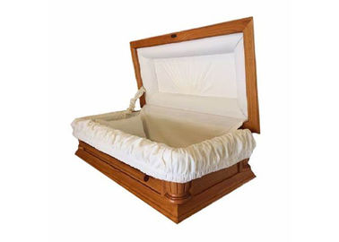 China Handicrafts Solid Wooden Samll Pet Caskets With Soft Lining Customized distributor