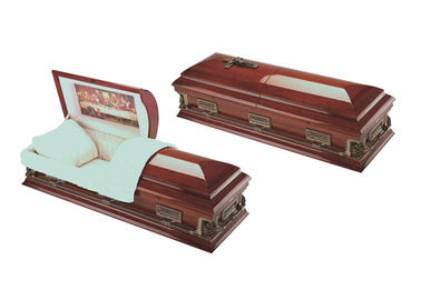China Baby Childrens Wooden Keepsake Boxes , Handmade Wooden Coffins With Custom Letters factory