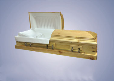 China Customized American Style Caskets Coffins Handmade Service For Adult factory