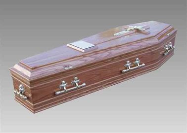 China Side Open Handmade Wooden Coffins Funeral Casket American Style Coffin distributor