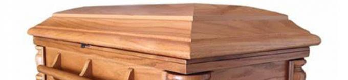 Handicrafts Solid Wooden Samll Pet Caskets With Soft Lining Customized